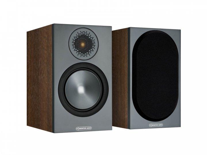 Полична акустики Monitor Audio Bronze 50 Walnut (6G) - зображення 1