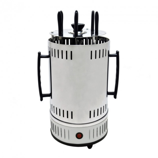 Шашличниця Domotec електрична MS-7782 1000W White (232771063zag) - зображення 1