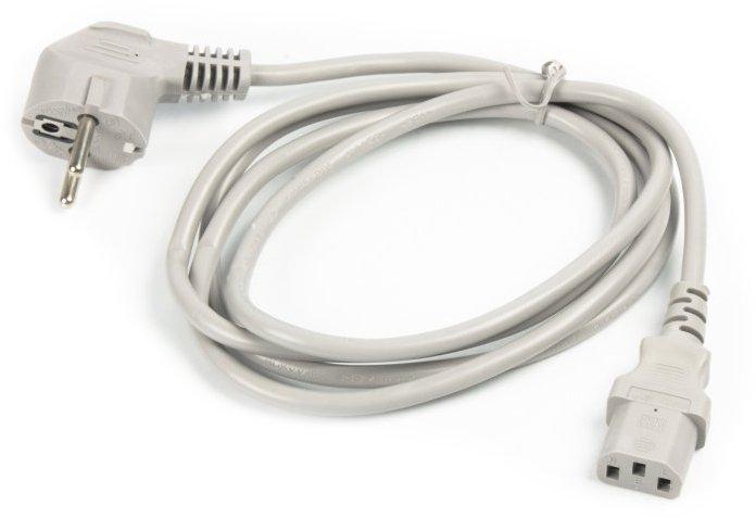 Кабель Cablexpert CEE7/7 - C13 1.8 м Серый (PC-186-VDE-GR) - изображение 1