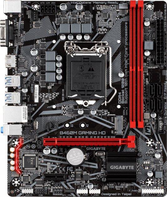 Материнська плата Gigabyte B460M Gaming HD (s1200, Intel B460, PCI-Ex16) - зображення 1
