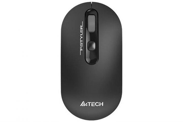 Миша бездротова A4Tech FG20 Grey USB - зображення 1