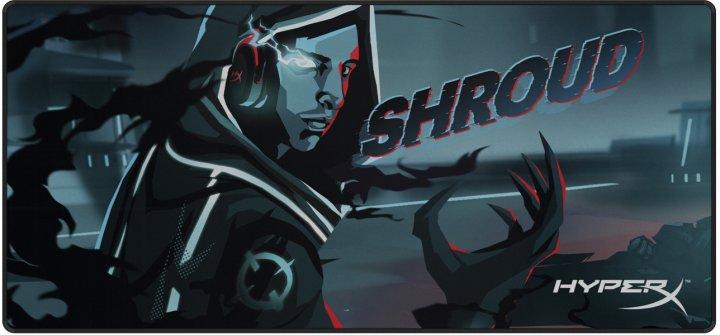Игровая поверхность HyperX Fury S Pro Shroud Limited Edition XL Speed (HX-MPFS2-SH-XL) - изображение 1