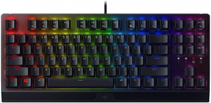 Клавіатура дротова Razer BlackWidow V3 TKL Razer Green USB RU (RZ03-03490700-R3R1) - зображення 1