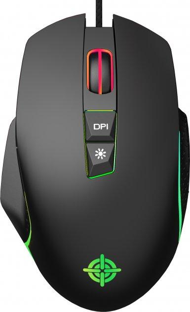 Миша GamePro Nitro USB Black (GM365) - зображення 1