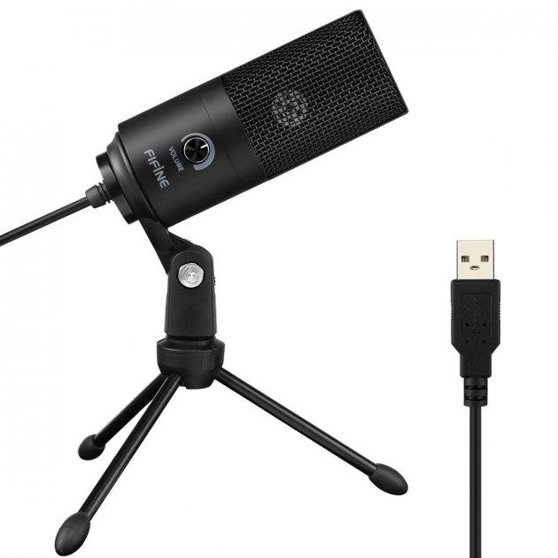 Студійний конденсаторний мікрофон FIFINE K669 - зображення 1