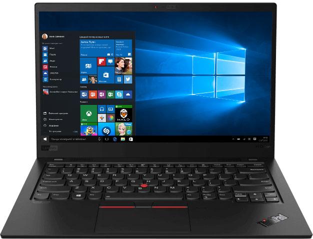Ноутбук Lenovo ThinkPad X1 Carbon (8th Gen) (20U9004RRT) Black - зображення 1