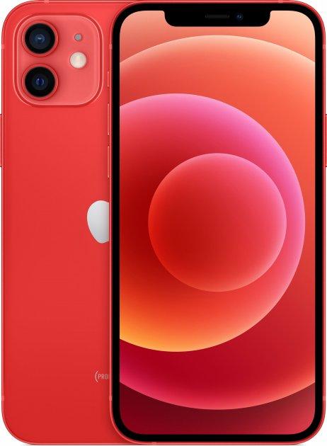 Мобильный телефон Apple iPhone 12 64GB PRODUCT Red Официальная гарантия - изображение 1
