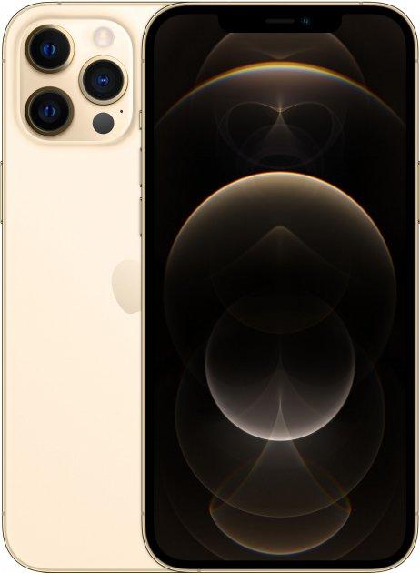 Мобильный телефон Apple iPhone 12 Pro Max 256GB Gold Официальная гарантия - изображение 1