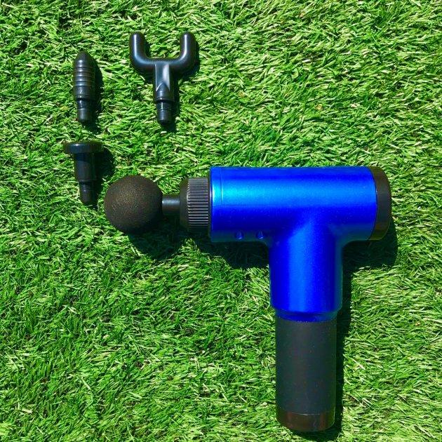 Портативный ручной вибромассажер для мышц Fascial Gun HF-280 - изображение 1