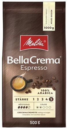 Жареный кофе в зернах Melitta Bella Crema Espresso 500 г (4002720004654) - изображение 1
