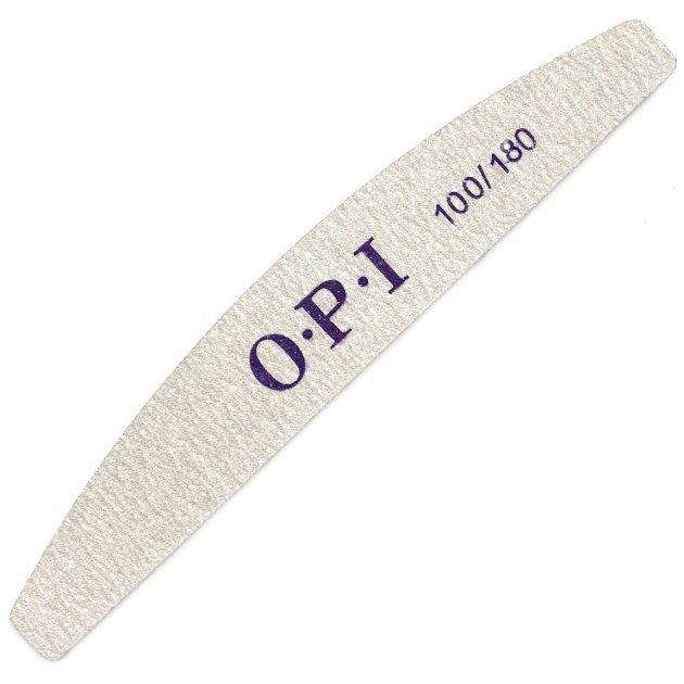 Пилочка для нігтів ДУГА OPI 100/180 - зображення 1
