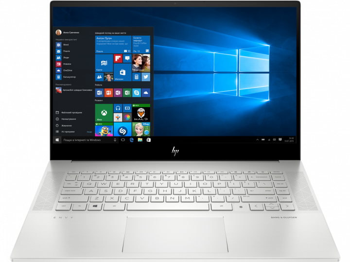 Ноутбук HP Envy Laptop 15-ep0002ur (1L6G6EA) Silver - зображення 1
