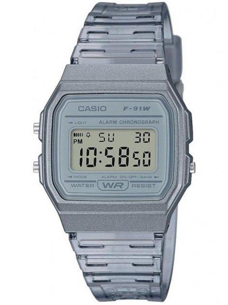 Чоловічі наручні годинники Casio F-91WS-8EF - зображення 1