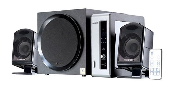 Акустична система 2.1 Microlab FC550 ЧорнаІз зовнішнім підсилювачем - зображення 1