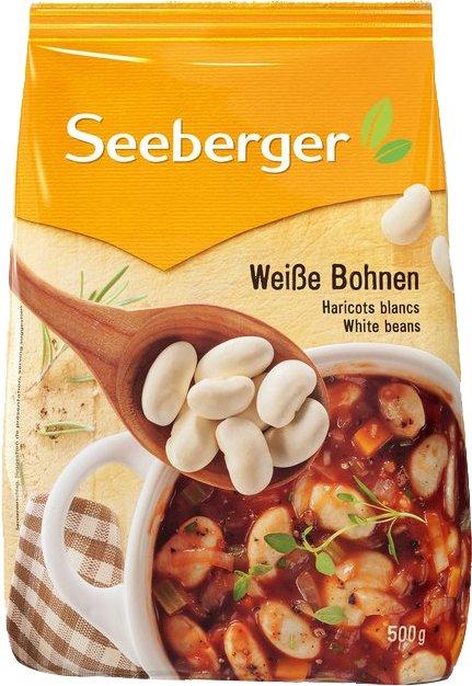 Фасоль белая Seeberger большая 500 г (4008258563014) - изображение 1