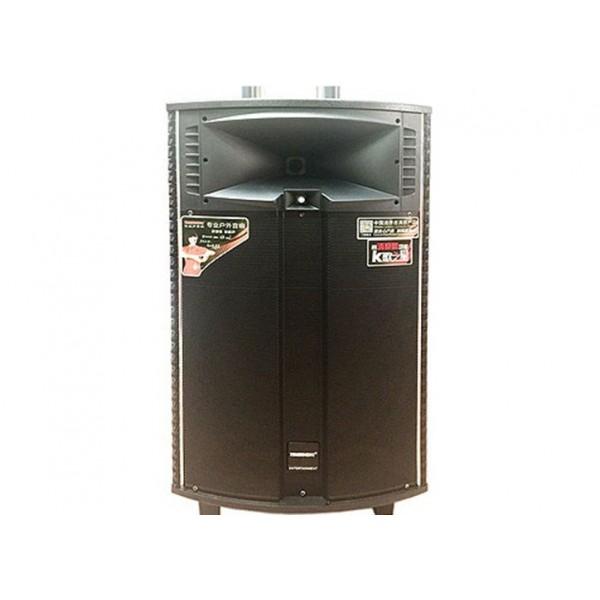 Колонка Temeisheng QX-15210 з підсилювачем, акустика, домашній кінотеатр, музичний центр, чорна - зображення 1