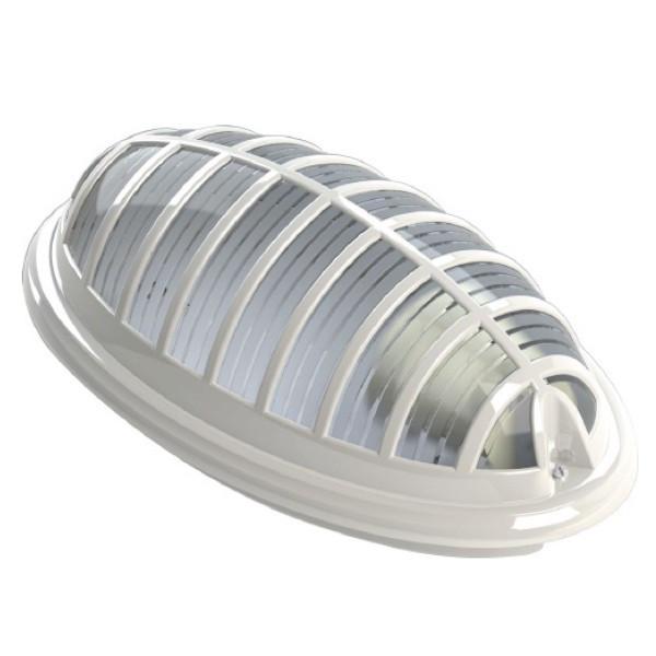 Світильник Teb Elektrik пластиковий Акуа Бра Е27 230V IP54 білий - зображення 1
