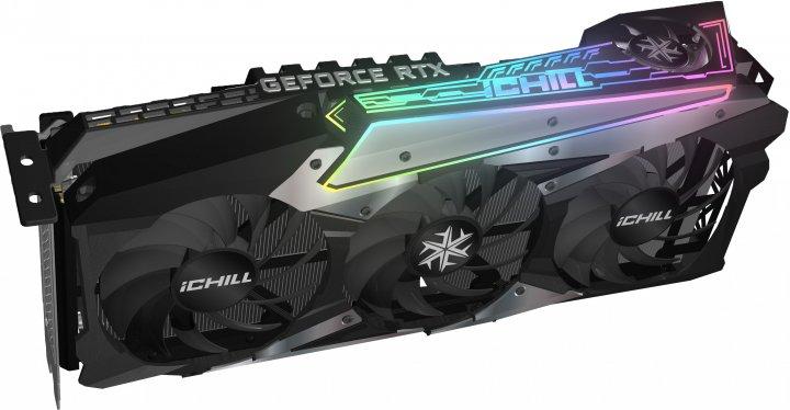 INNO3D PCI-Ex GeForce RTX 3090 iChill X4 24GB GDDR6X (384bit) (1755/19500) (HDMI, 3 x DisplayPort) (C30904-246XX-1880VA36) - зображення 1