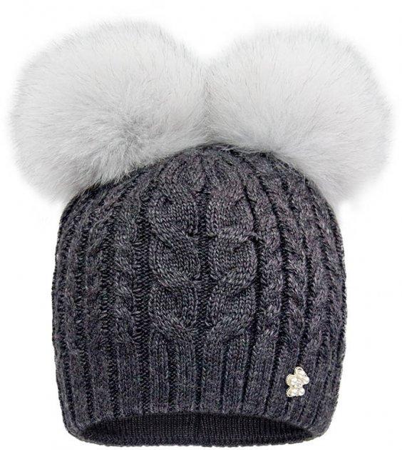 Зимняя шапка David's Star 2091 54 см Асфальт (ROZ6400021915) - изображение 1