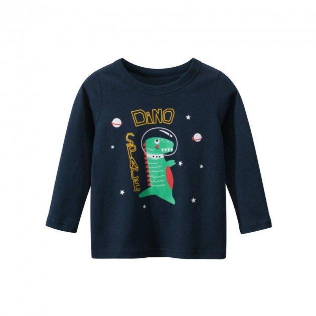 Лонгслив для мальчика Space 27 KIDS (130) Синий (56435) - изображение 1