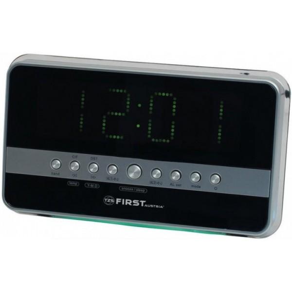 Радиоприемник часы FIRST FA-2418-1 - зображення 1