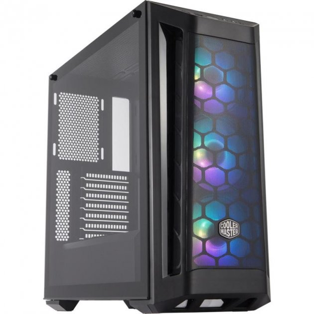 Корпус CoolerMaster MasterBox MB511 ARGB Black без БЖ (MCB-B511D-KGNN-RGA) - зображення 1