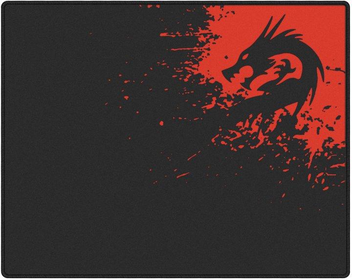 Ігрова поверхня Protech Dragon 440x350 мм Black/Red (PR-1479) - зображення 1