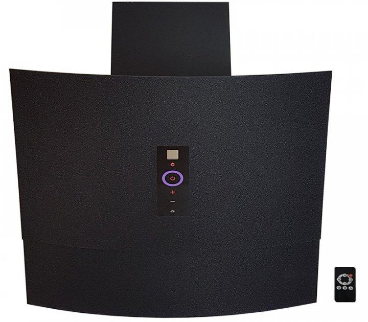 Вытяжка Luxor Del Tongo 1200 Titan Intellect + система включения вытяжки от запаха черный - изображение 1