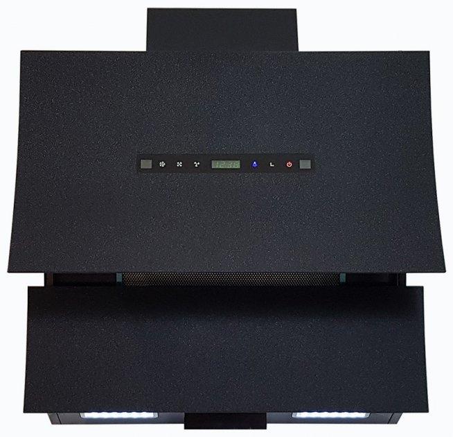 Витяжка Luxor Magic 1200 LED Titan Imagination + система включення/вимикання витяжки без контактно чорний - зображення 1