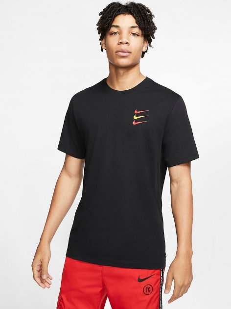 Футболка Nike F.C. Mens Football T-Shirt CT8431-010 M (194272633377) - зображення 1