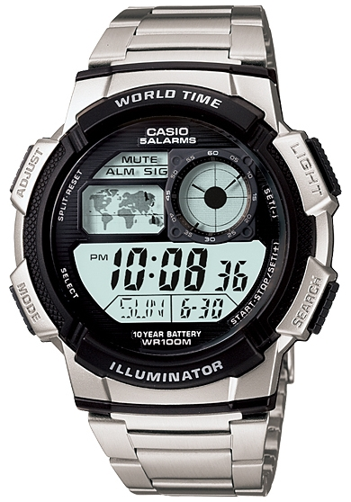 Чоловічі наручні годинники Casio AE-1000WD-1AVEF - зображення 1
