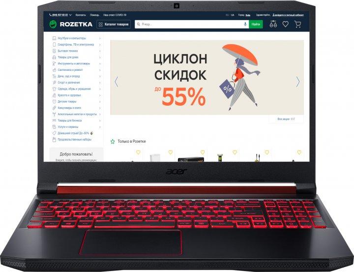 Ноутбук Acer Nitro 5 AN515-54-584L (NH.Q96EU.01J) Obsidian Black Суперцена!!! - изображение 1