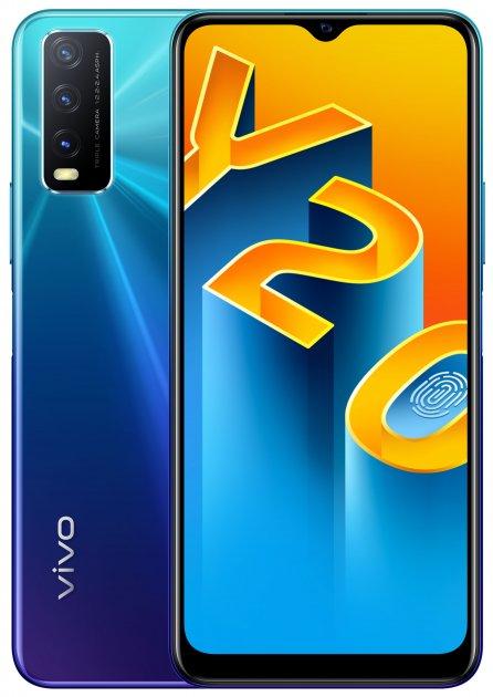 Мобильный телефон Vivo Y20 4/64GB Nebula Blue (6935117826837) - изображение 1