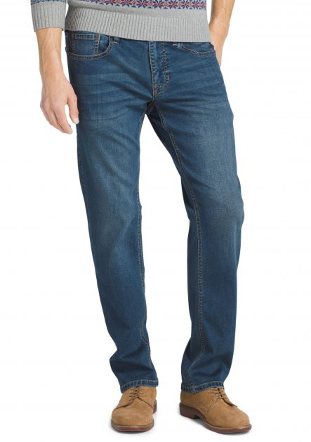 Джинсы IZOD Comfort Stretch FIT 1272983 32-29 Denim Blue - зображення 1