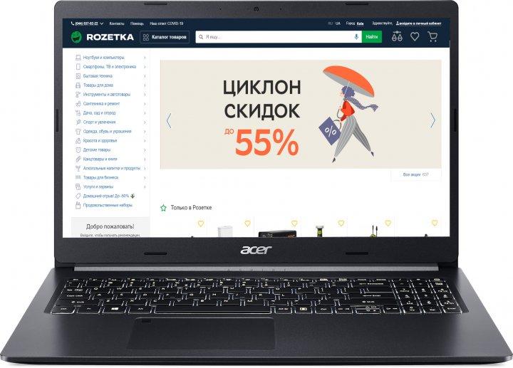 Ноутбук Acer Aspire 5 A515-55G-70GE (NX.HZDEU.00G) Charcoal Black - зображення 1