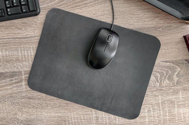 Коврик для мыши кожаный Locoronto Серый 190х250 мм - изображение 1