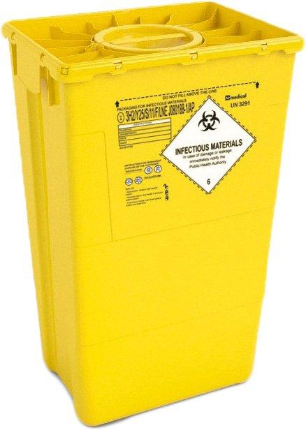 Контейнер для сбора медицинских и биологических отходов AP Medical EVO 60 л DUO (2024300 6047 08) - изображение 1