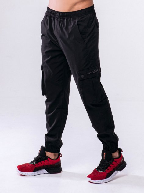 Спортивные штаны PEAK FW301351-BLA L Черные (6941230155310) - изображение 1