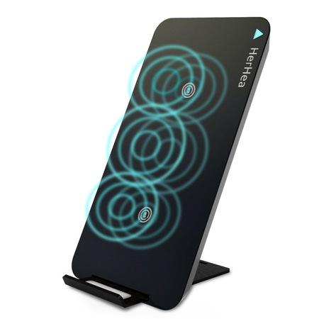 Беспроводное зарядное устройство Herhea DE-1 Qi зарядка для телефона - изображение 1