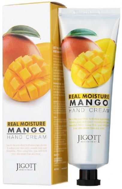 Крем для рук Jigott Real Moisture Mango Hand Cream с экстрактом манго 100 мл (8809541280795) - изображение 1