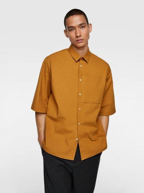 Рубашка Zara 4482/237/305 S Горчичная (04482237305022) - изображение 1