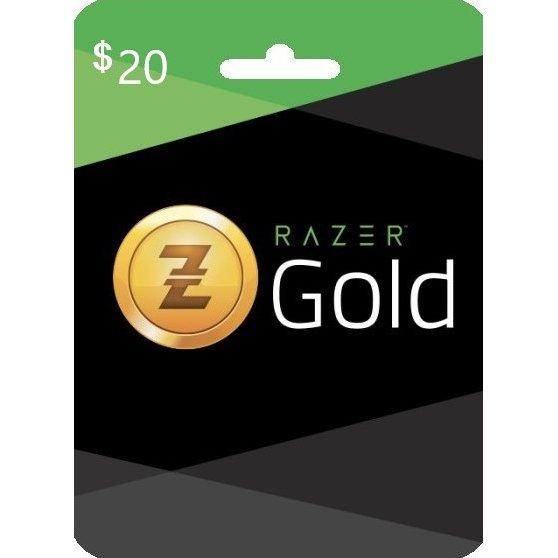 Razer Gold $20 gift card - изображение 1