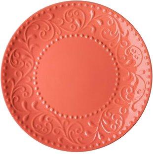 Тарелка десертная Ardesto Olbia Deep orange Оранжевый 19 см (AR2919OC) - изображение 1