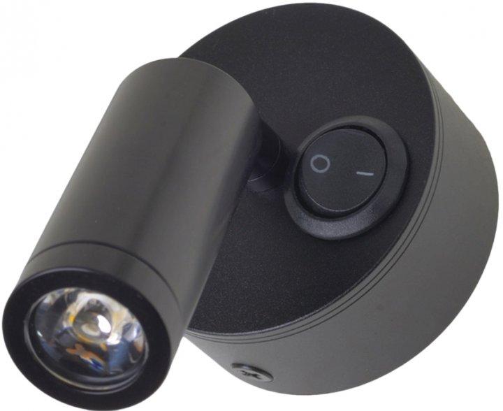 Настенный светильник Brille AL-540/3W WW LED BK (27-058) - изображение 1