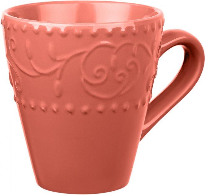 Чашка Ardesto Olbia Deep orange Оранжевый 360 мл (AR2936OC) - изображение 1
