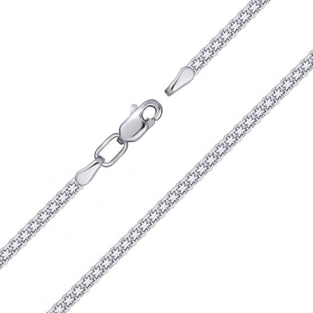 Серебряный браслет в якорном плетении 000132738 16 размера - изображение 1