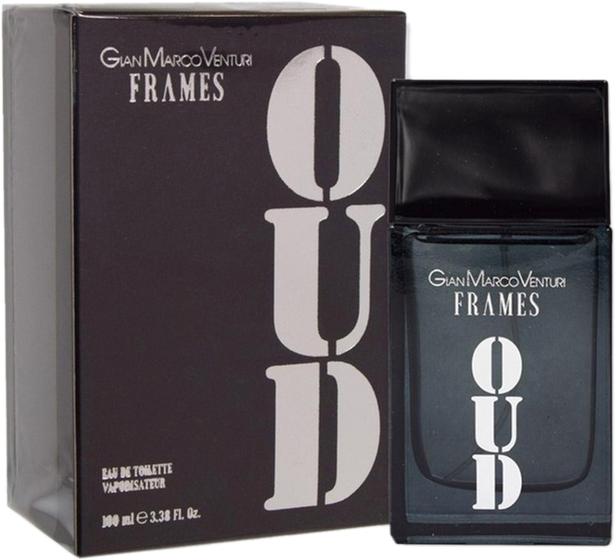 Туалетная вода для мужчин Gian Marco Venturi Frames Oud For Men 100 мл (ROZ6400100216) - изображение 1