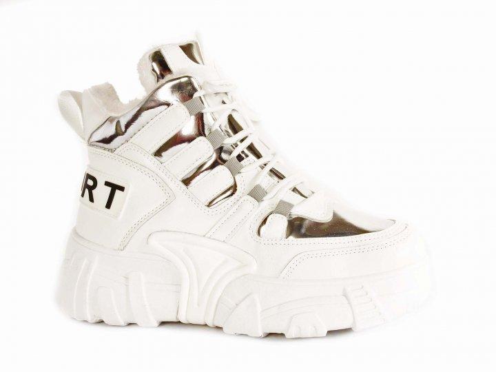 Кроссовки БАШИЛИ D93-1 40 Белый - изображение 1