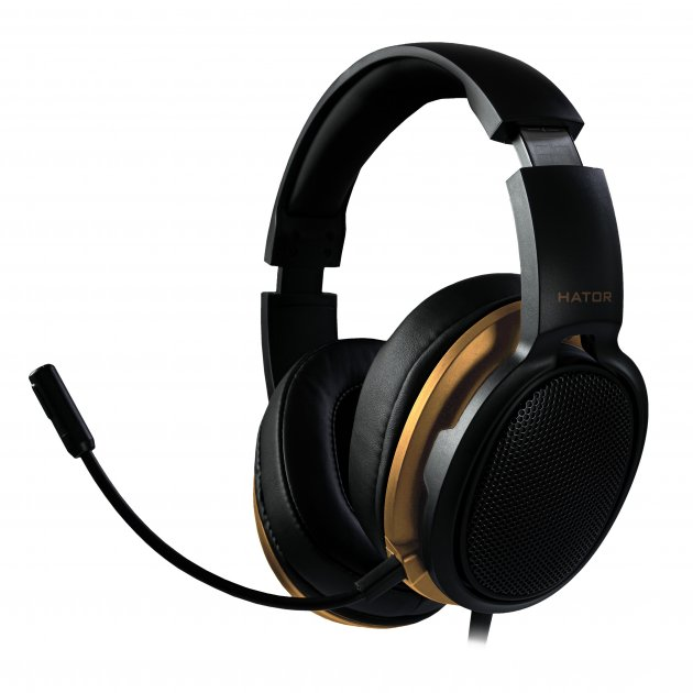 Навушники Hator Hellraizer Black/Gold (HTA-813) - зображення 1