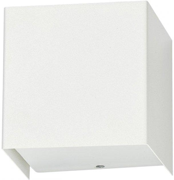 Настінний світильник Nowodvorski NW-5266 Cube white - зображення 1